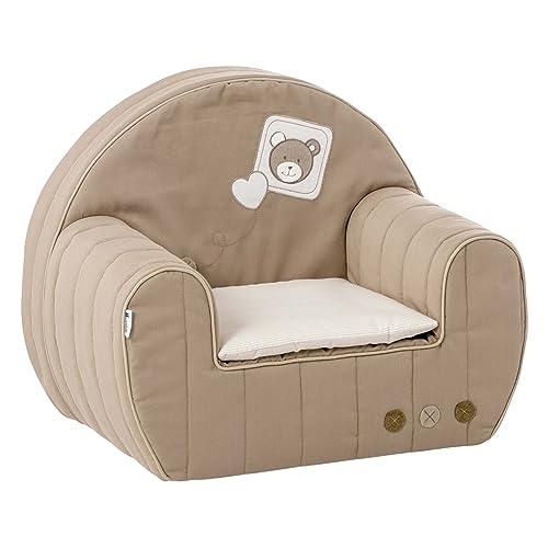 candide 163680 fauteuil club avec coussin tinours - Fauteuil Chambre