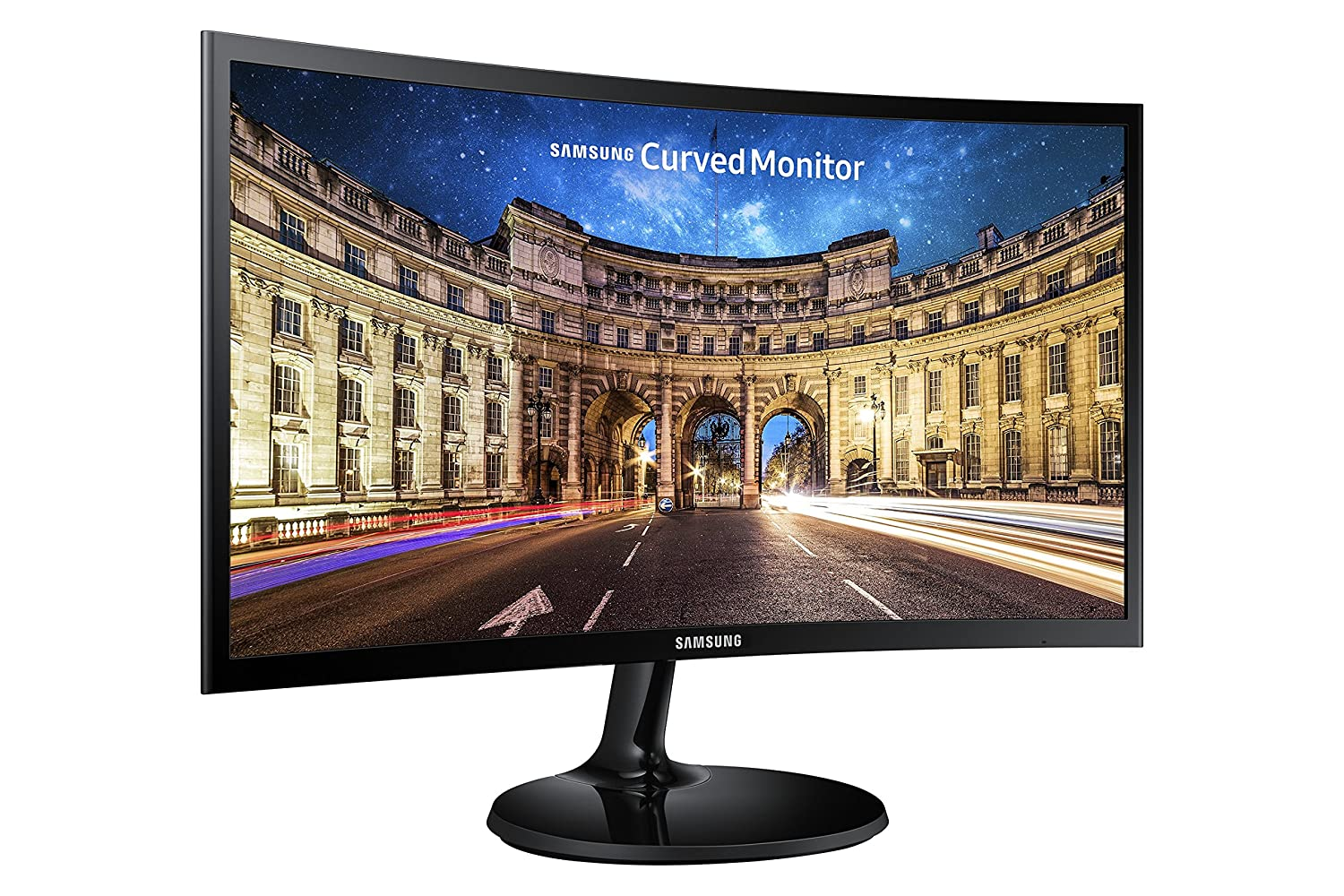 Samsung C24F396FHU - Monitor (24', Full HD, LED, 3000:1), Color Negro LC24F396FHUXEN