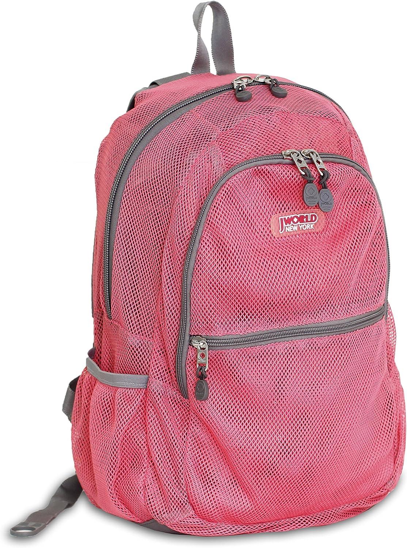 J World New York Mesh Backpack