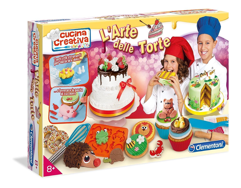 abbastanza Clementoni 15782 - Cucina Creativa l'Arte delle Torte: Amazon.it  YL99