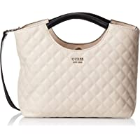 GUESS Womens Small Shopper Bag, Stone Multi - VG743605