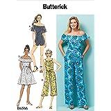 Tissue Multicoloured Butterick Patterns 6452 E5,Misses Dress and Jumpsuit,Sizes 14-22 17 x 0.5 x 22 cm