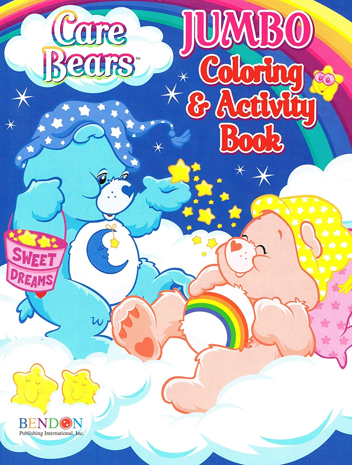 Amazon.com: Bendon Care Bears Jumbo Color and Activity (96 Pages ...