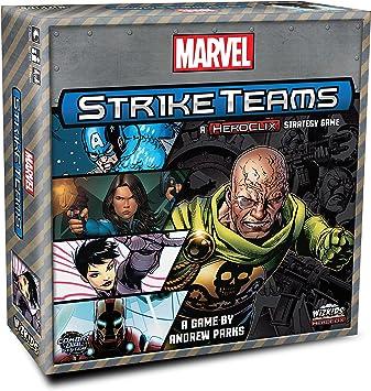 WizKids Heroclix Marvel Strike Teams Strategy Board Game - English ...