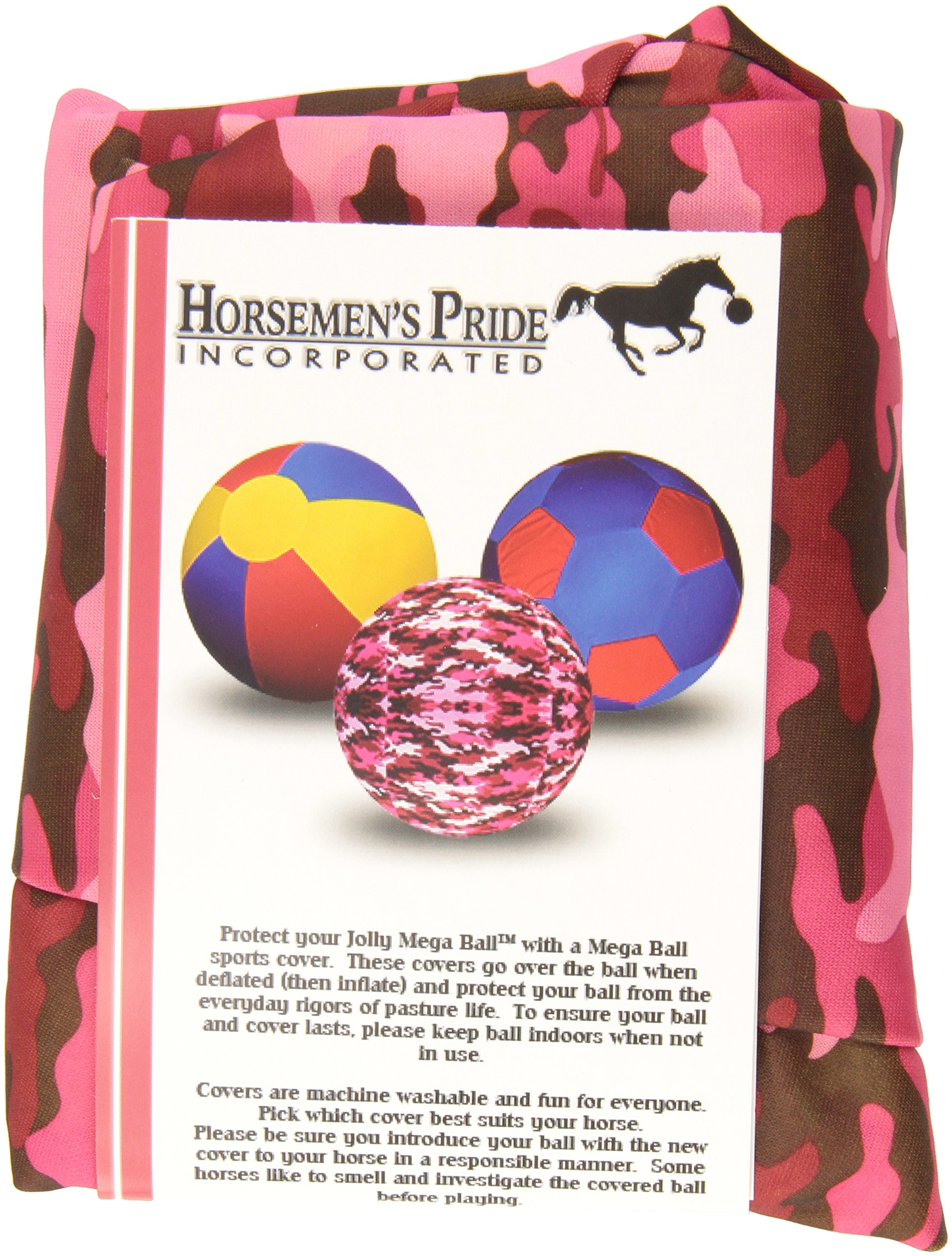 Horsemen's Pride Jolly Mega Cover for Horses, 25'', Pink Camo