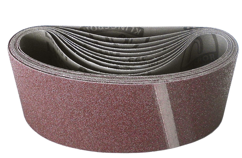 STARCKE tissus Schleifband abrasives 10 mm x 330 mm k40-k80 au choix