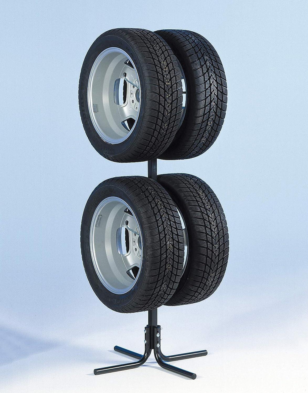 Unitec 10905 - Soporte para neumáticos y Llantas (para 4 Ruedas de 10-43,2 cm)