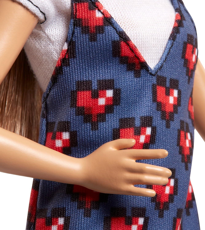 Barbie Fashionista, Muñeca Corazón corazón, Juguete +7 años (Mattel FJF46): Amazon.es: Juguetes y juegos
