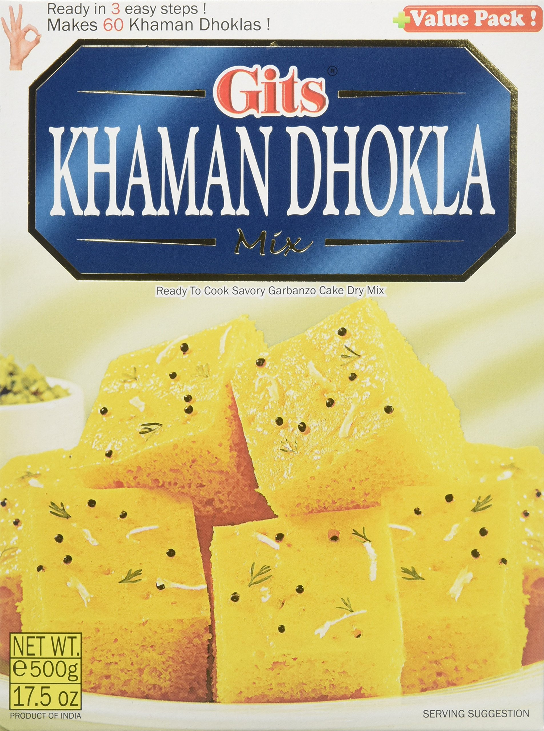 Gits Khaman Dhokla Mix - 500 Gms by Gits