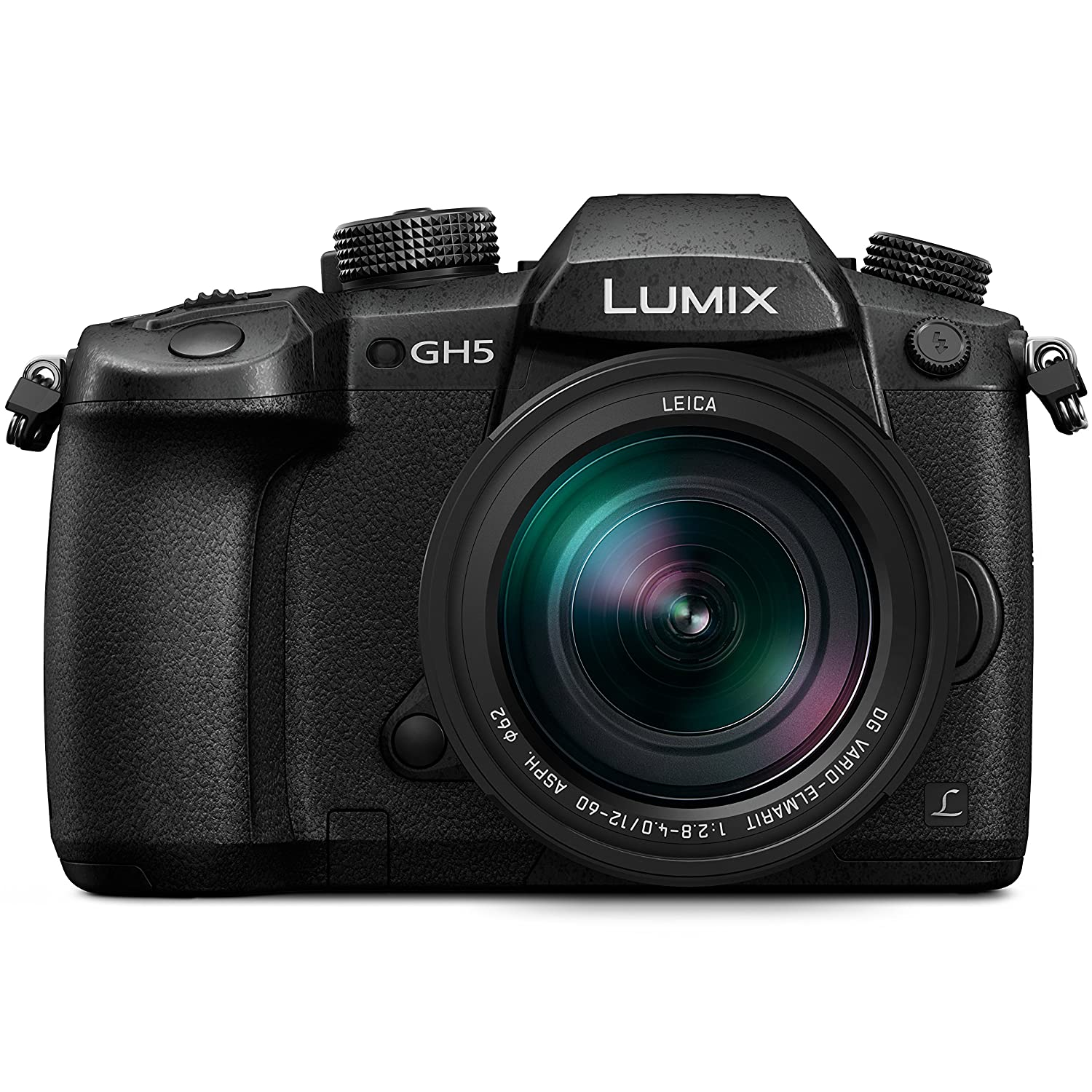 Panasonic LUMIX GH5 4K Mirrorless Camera with Lecia Vario-Elmarit 12-60mm F2.8-4.0 Lens (DC-GH5LK)
