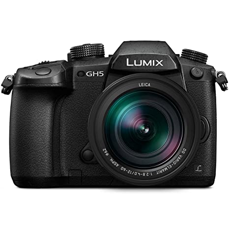 Panasonic LUMIX GH5 4K Mirrorless Camera with Lecia Vario-Elmarit 12-60mm F2.8-4.0 Lens (DC-GH5LK) <span at amazon