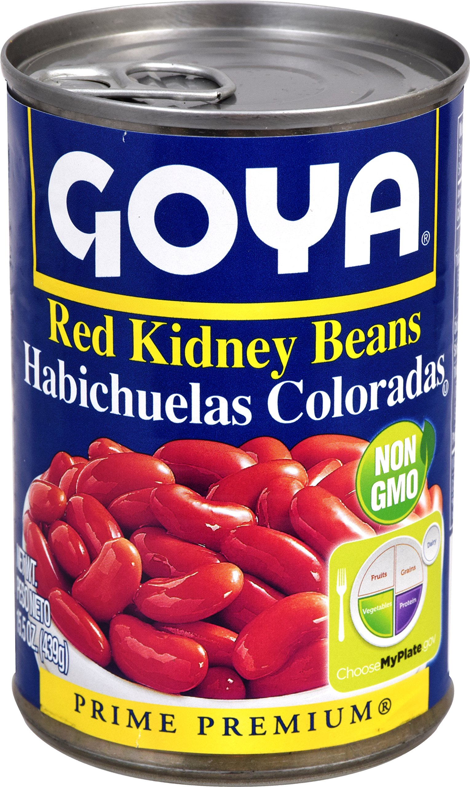 Goya Foods Red Kidney Beans, 15.5-Ounce (Pack of 24)