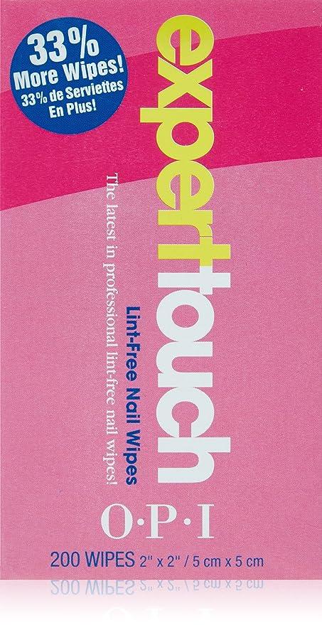 OPI Nail Experto Touch toallitas Pack 1 (1 x 200 Tücher) [Badartikel]