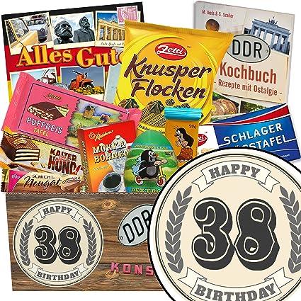 Süßigkeiten Box Set Geschenk 38 Geburtstag Frau Geschenke