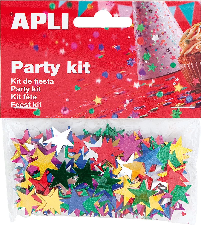 APLI 941782/ /5/Sac confettis avec motif /étoiles