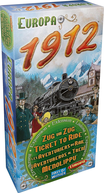 Days of Wonder- Aventureros Al Tren-Europa, Multicolor (720111): Amazon.es: Juguetes y juegos
