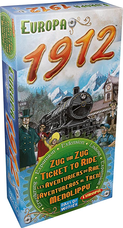 Days of Wonder- Aventureros Al Tren-Europa, Multicolor (720111): Amazon.es: Juguetes y juegos