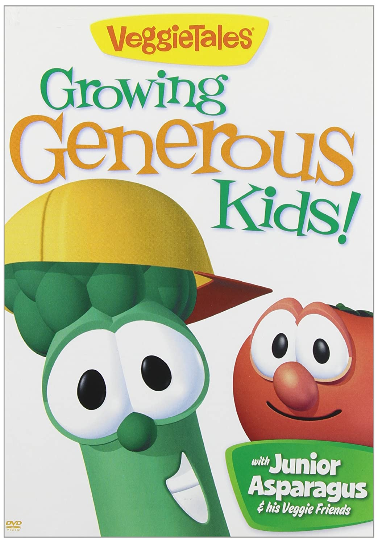 Amazon.com: Veggie Tales Growing Generous Kids: Junior Asparagus, Veggie  Tales: Movies & TV