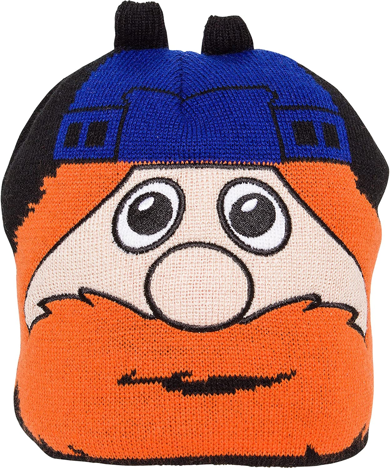 Old Time Hockey Montreal Canadiens Mascot Youppi Toddler Uncuffed Knit Hat Size Toddler