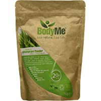 BodyMe Raw Organic New Zealand Wheatgrass Powder 250g Soil Association and Vegan Society