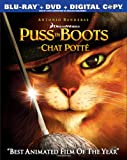 Puss in Boots (Bilingual) [Blu-ray + DVD + Digital Copy]