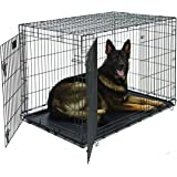 Life Stages LS-1648DD Double Door Folding Crate for X-Large Dogs(91 - 110lbs)