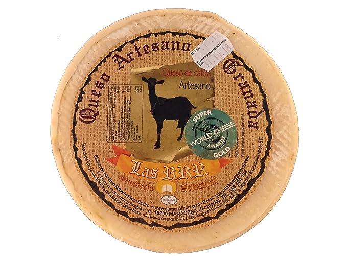 Queso gourmet de cabra de primerísima calidad con certificado World Cheese Awards entre los 60 mejores