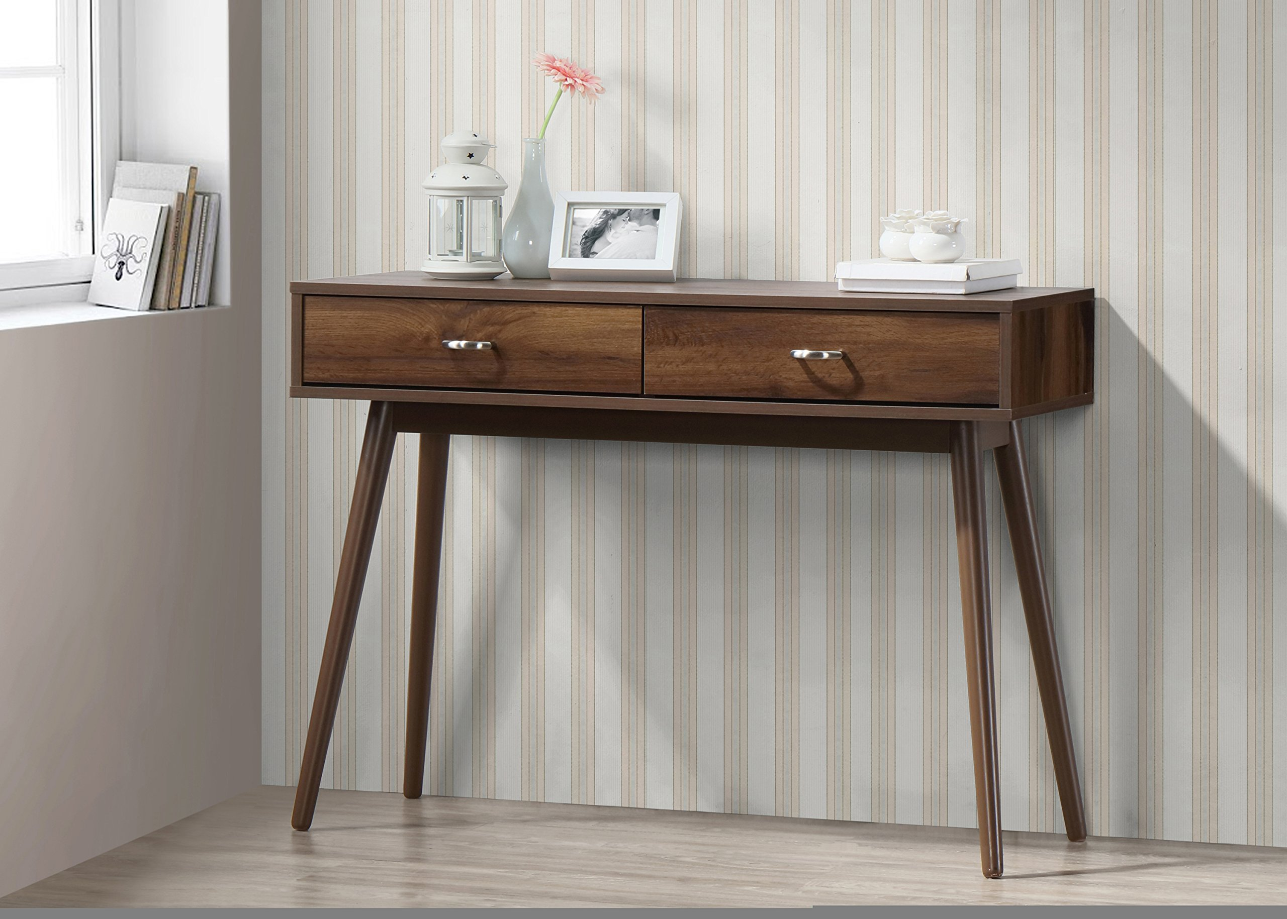 Midcentury Desk in Walnut Finish by 4D Concepts