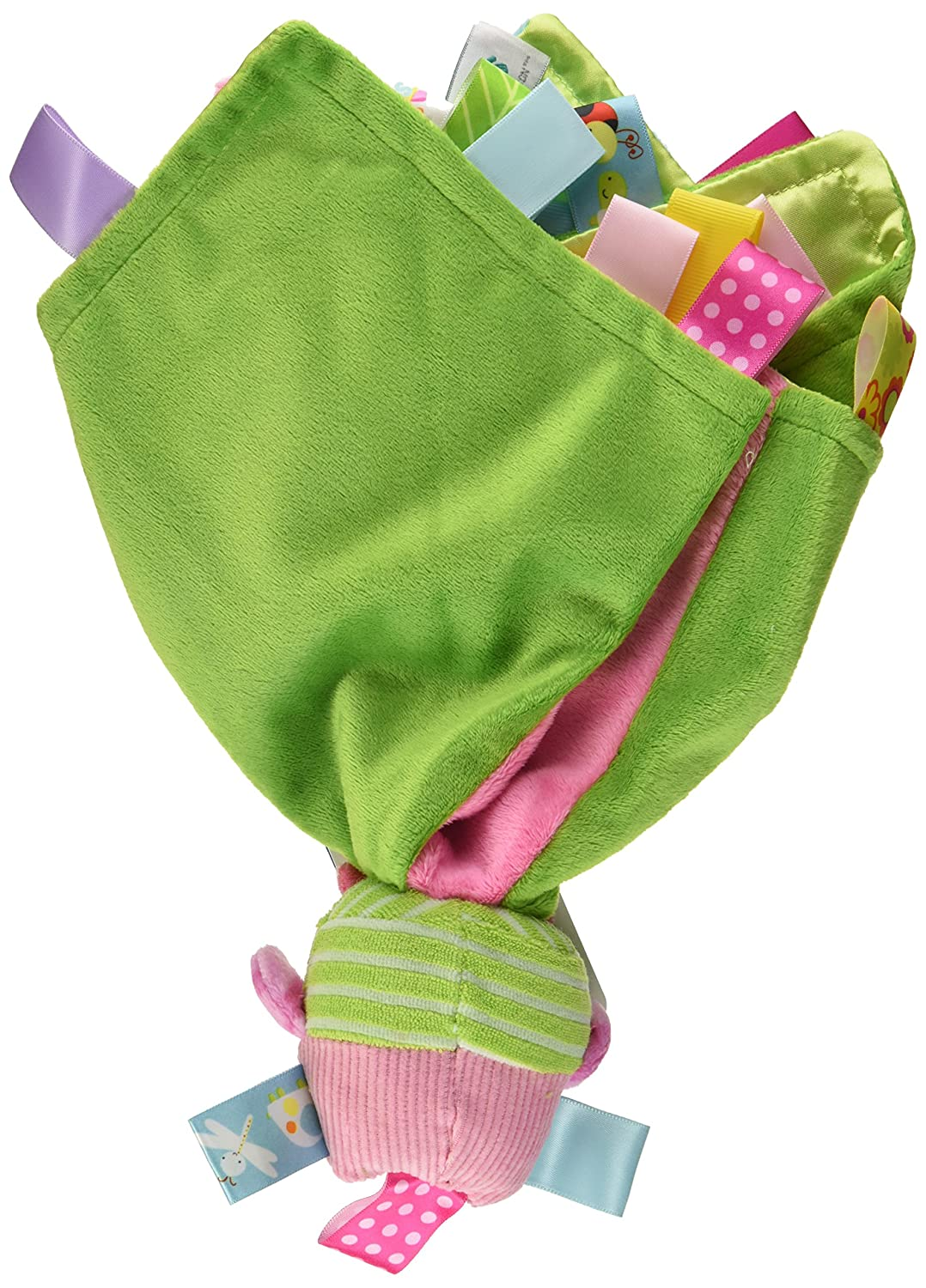 Taggies Touch /& Feel Soft Cloth Book with Crinkle Paper and Squeaker Oodles Owl Mary Meyer 40110
