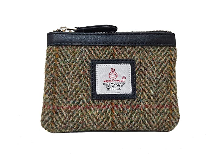 Ladies Harris Tweed Clasp Coin Purse Available In 9 Colours LB2035