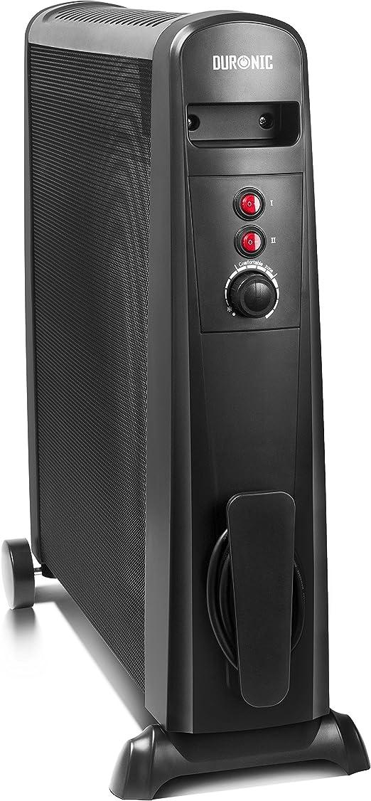 Duronic HV101 Radiador Eléctrico 2500W de Panel de Mica - Estufa sin aceite que calienta en 1 minuto – Bajo consumo y ligero: Amazon.es: Hogar