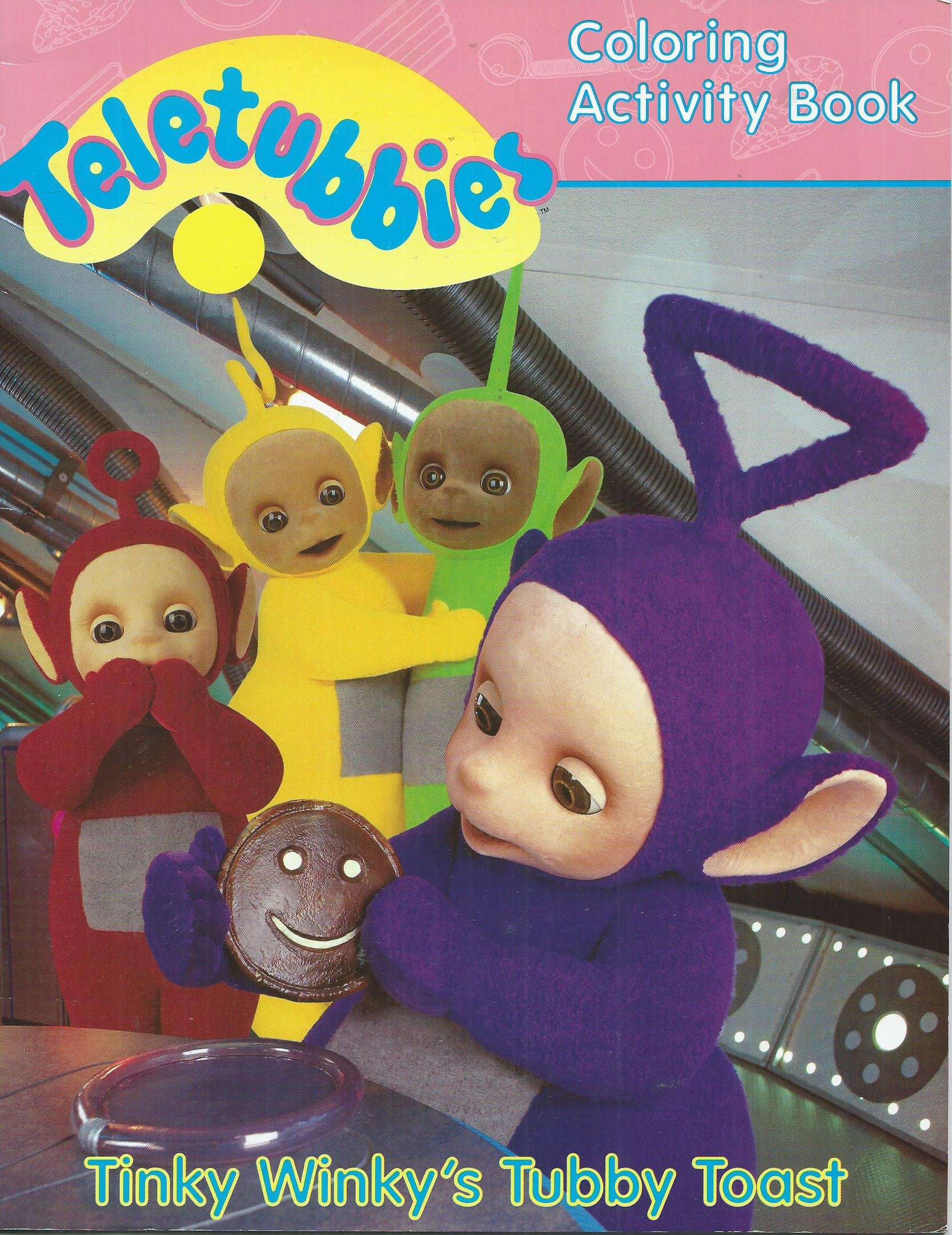 - Teletubbies Coloring Activity Book Series: Tinkywinky's Tubby
