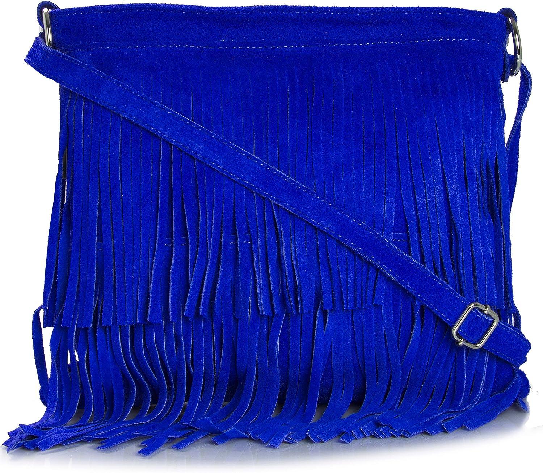 Bolso de mano con de gran tamaño con Tassle de mujer para Shop de flecos para decoración bolso de piel sintética y ante