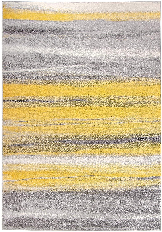 Carpetforyou Designer Teppich Summer Abstract in 4 Größen ideal für Wohnzimmer oder Schlafzimmer (160 x 230 cm)
