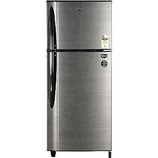 Godrej 240 L 2 Star Frost Free Double Door Refrigerator  RT Eon 240 C 2.4, Silver Stroke  Refrigerators