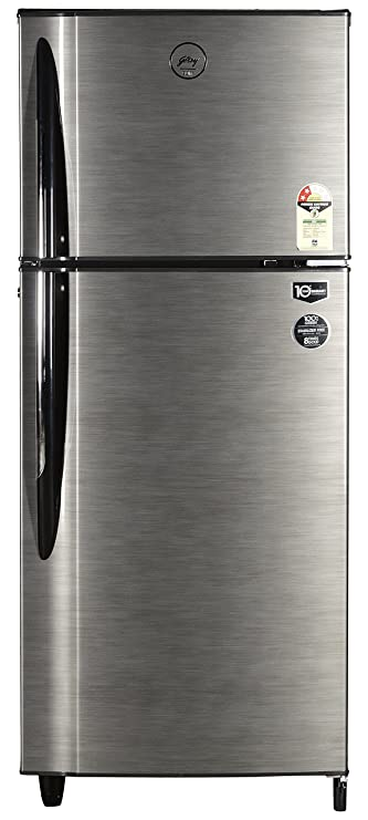 Godrej 240 L 2 Star   2019   Frost Free Double Door Refrigerator  RT Eon 240 C 2.4, Silver Stroke  Refrigerators