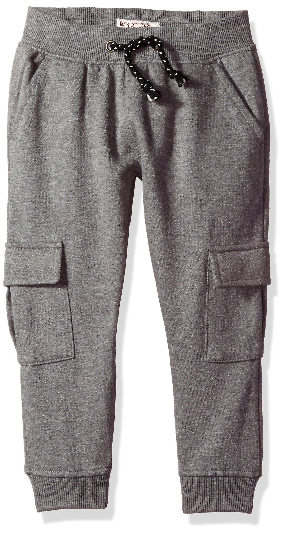 Penguin Little Boys' Fleece Pant (More Styles Available), Shark Heather, 6
