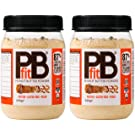 PBfit Peanut Butter Powder, 225 g, Pack of 2,All-Natural from Real Roasted Pressed Peanuts, High in Protein, Natural Ingredients