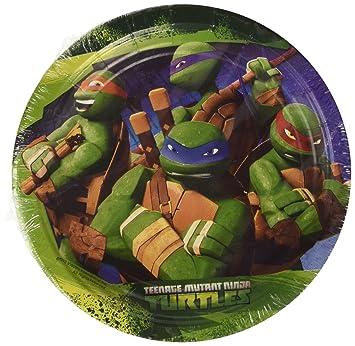 Amscan International - Cubertería para Fiestas Tortugas Ninja (RM552484): Amazon.es: Juguetes y juegos