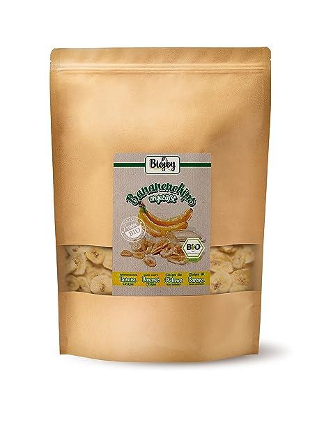 Chips de plátano BÍO | plátanos (68%) horneados en aceite de coco (