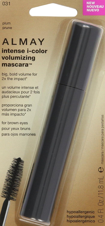 Amazon.com : Almay Intense i-Color Volumizing Mascara, Black Plum : Beauty