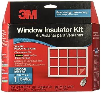 3M Indoor Window Insulator Kit 1-Window  sc 1 st  Amazon.com & 3M Indoor Window Insulator Kit 1-Window - Window Latches - Amazon.com pezcame.com