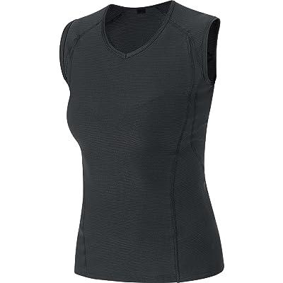 GORE Wear Women's Breathable Sleeveless Inner Layer Shirt, GORE Wear M Women Base Layers Sleeveless Shirt, 100017