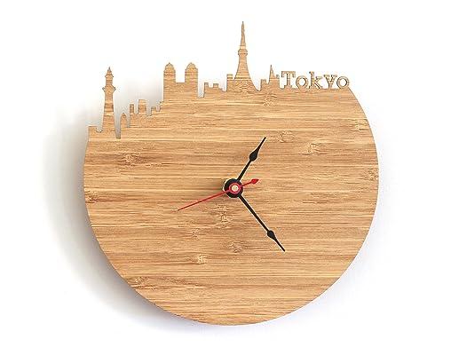 Tokyo Skyline Clock
