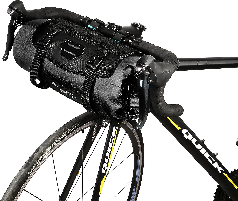 Roswheel 7L Handlebar Bag 100% a prueba de agua H15 x H40cm Cesto ...