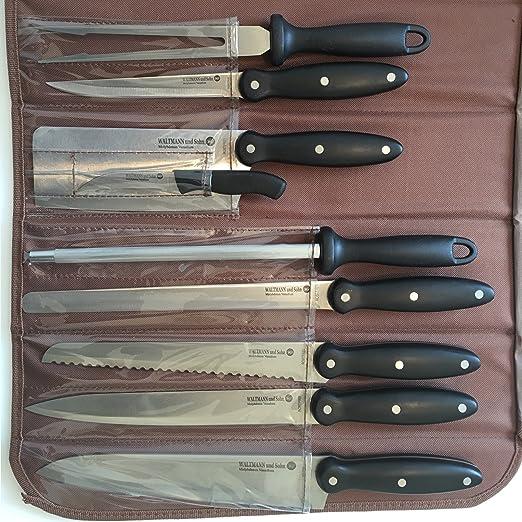 Compra Prime - Juego de 9 cuchillos (en estuche) en Amazon.es
