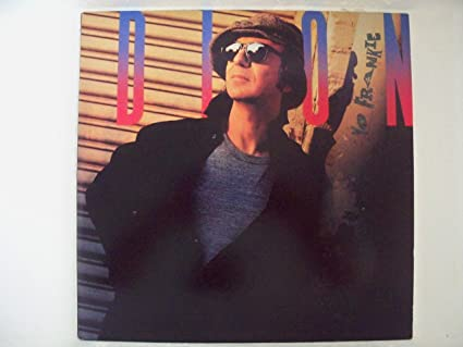 Dion dion: yo frankie cassette vg++ canada arista ac-8549.