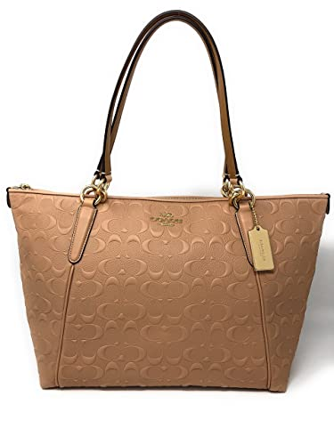 Fd3ca Tote Coach Handbags Leather 6120b Usa 3RqAj54L