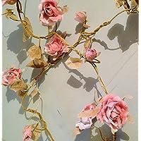 RJB Stone - Guirlanda de rosas (1,8 m)