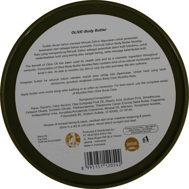 Olive Zaitun Body Butter By Mustika Ratu Indonesia 200 Safety Boot Bahan Kulit Asli Home Made Gram Beauty